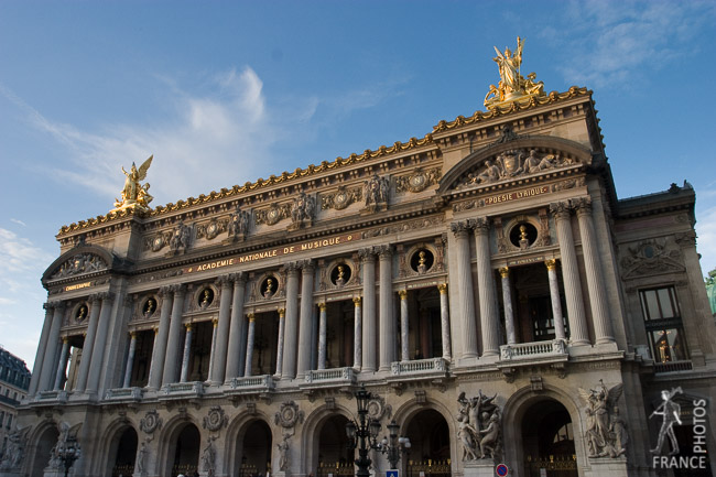 Opéra Garnier side view