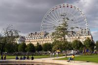 Summer in the Jardin des Tuileries