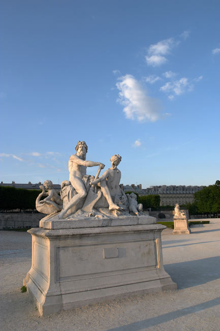Seine et Marne in the Jardins des Tuileries