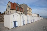 Beach cabins of le Crotoy