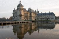 Chantilly castle from the back