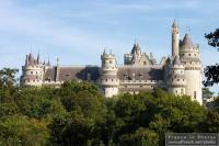 Castle of Pierrefonds, from afar