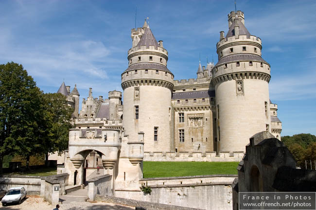 Pierrefonds Castle Outer Courtyard Pierrefonds France