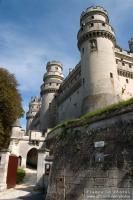 Entrance of the Pierrefonds Castle