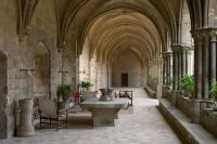 Royaumont cloister